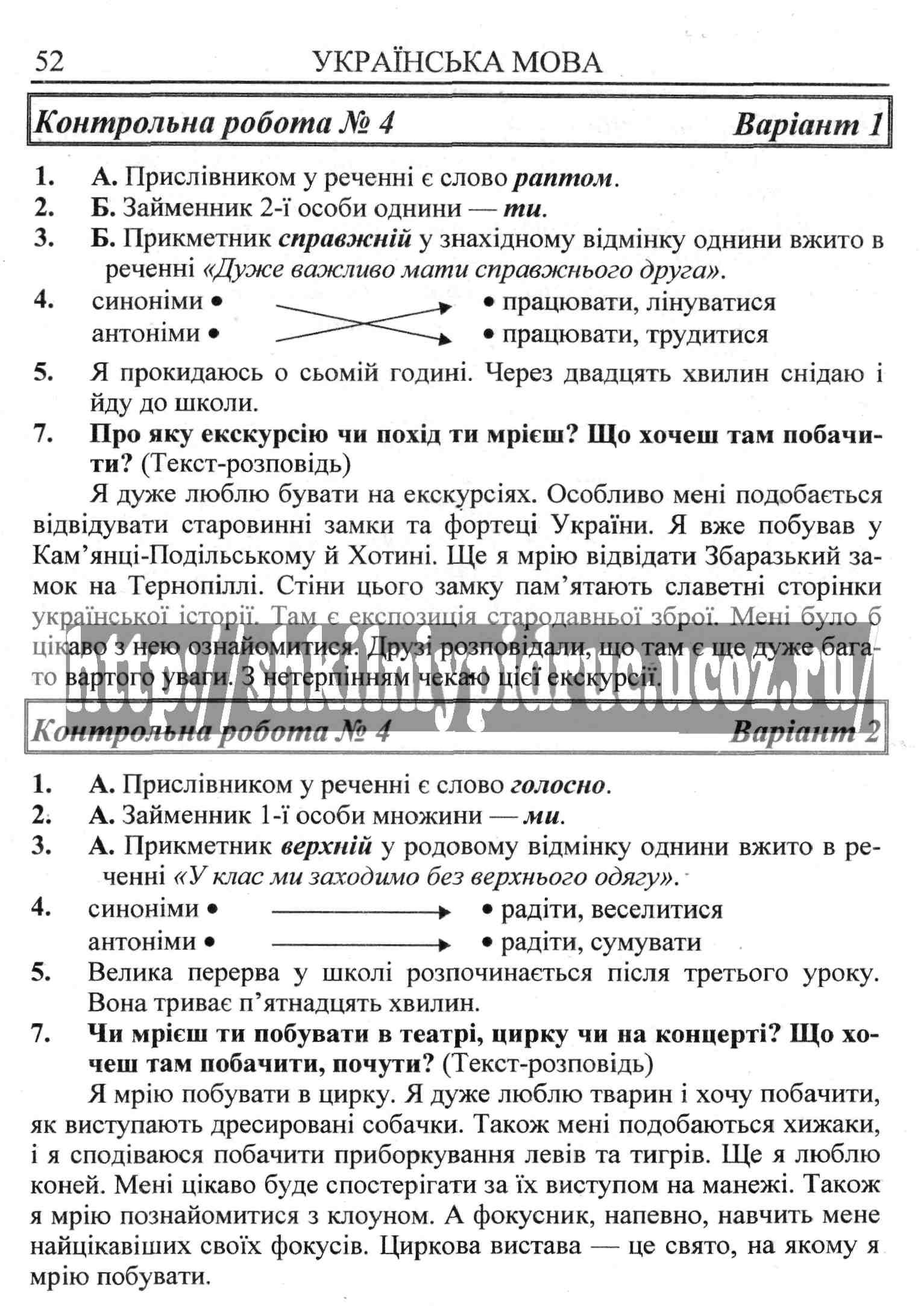 Гдз по Украинскому языку 5-а Класс