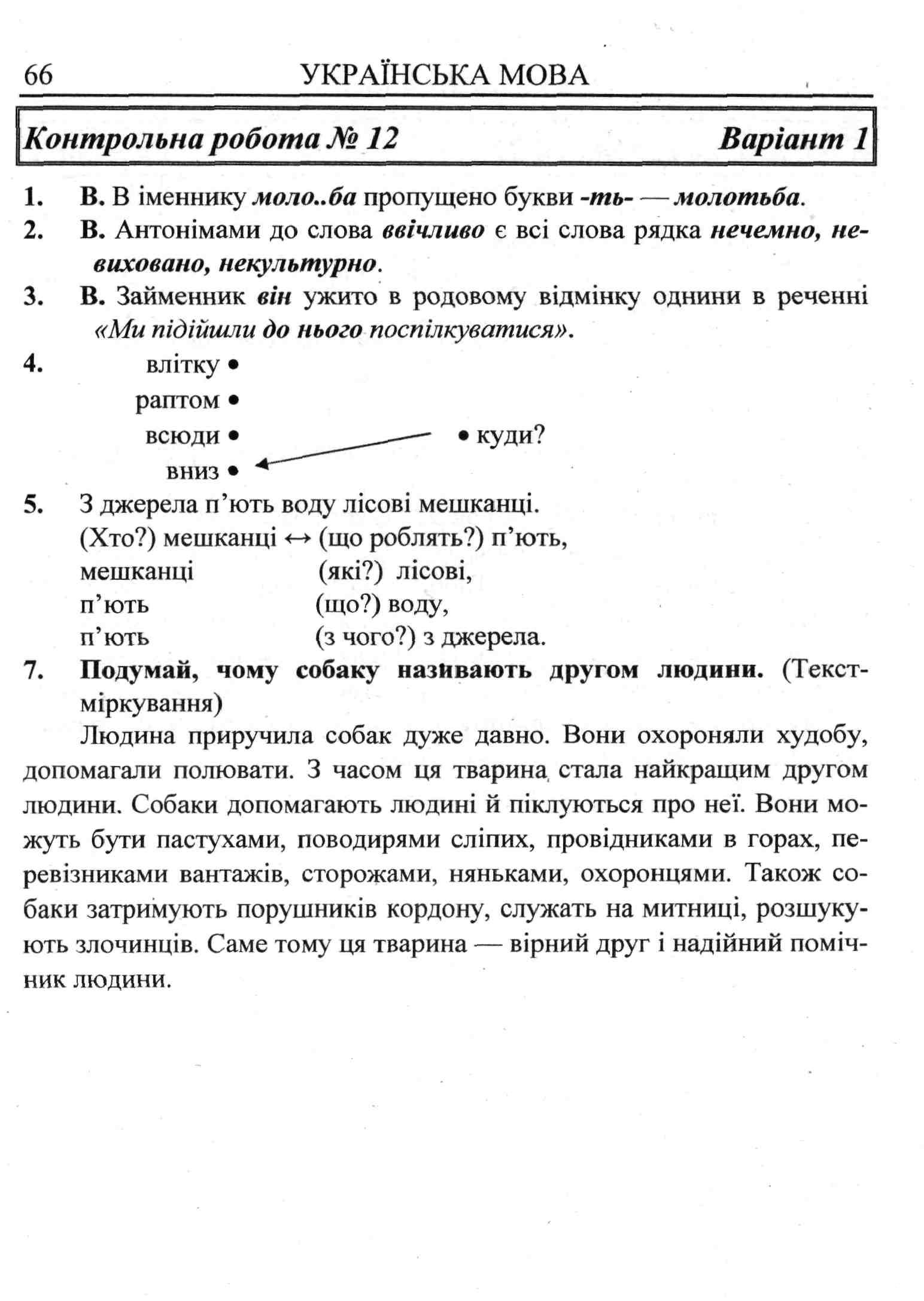 Решебник По Українській Мові 4 Клас Хорошковська