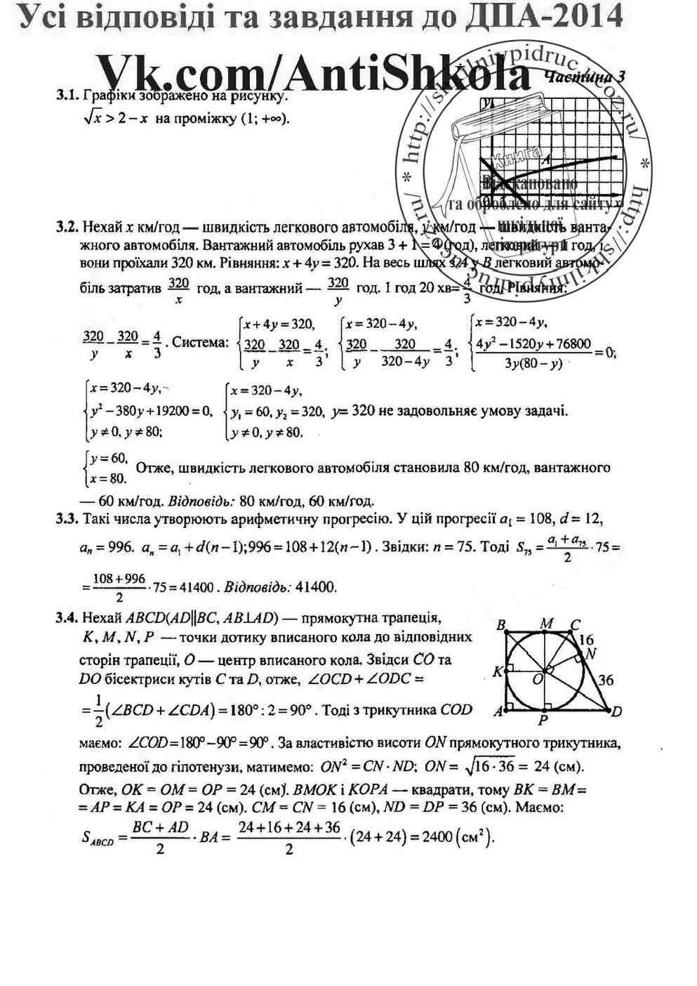 Онлайн класса 9 математика для решебник дпа